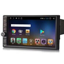 Android 7.1 Double 2 din Car GPS Navigation Bluetooth USB SD Player Sat Nav DAB+3G WiFi DVR