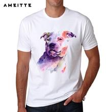 Men's High Quality Dog Printed T-Shirt