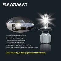 Pair V1 LED Headlight H1 H3 H4 H7 H8 H9 H11 H16 JP 9005 HB3 9006