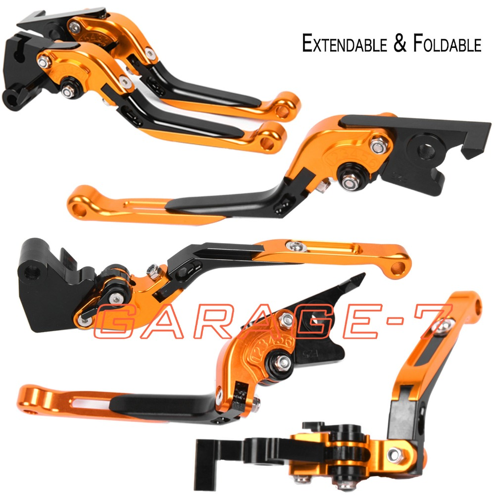 ФОТО For KTM 690 SMC 2008-2011 Foldable Extendable Brake Clutch Levers Motorbike Brakes CNC Folding&Extending High Quality Hot Sala