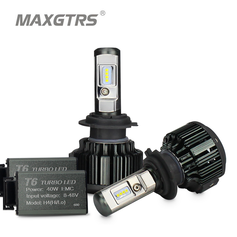 MAXGTRS H1 H3 H4 H7 H8 H11 9005 9006 9012 HB3 HB4 H13 9004 9007 880 881 Mobil LED Headlight Bulbs 70W CSP LED Headlamp Lampu Depan