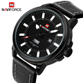 Top Brand NAVIFORCE Men's Sports Watches Quartz Luminous Fashion Clock Leather Military Waterproof Wrist watch Relogio Masculino