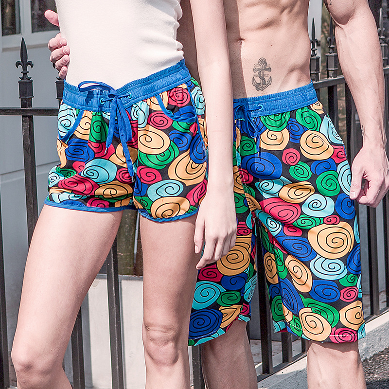 Couple Men   Board     Shorts   Swimming Trunks Boxer Joggers Running Sweat Swimsuit Beach Surfing Boardshort Sport Fitness Plus