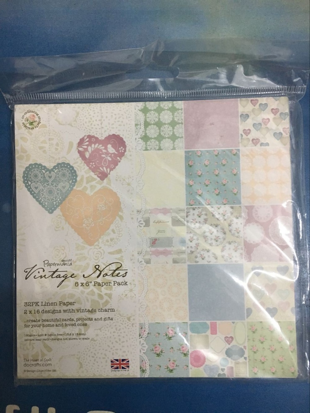 Scrapbook paper books - New Style 6inch Gift Wrapping Book Kit Vintage Charm Themem Patterns 32sheets Set
