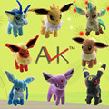 Pokemon Plush Toys 8 Styles Umbreon Eevee Espeon Jolteon Vaporeon Flareon Glaceon Leafeon Pikachu Soft Stuffed Plush Animals
