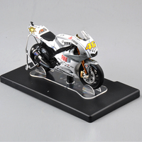1 18 Valentino Rossi Yamaha YZR M1 46 Estoril 2009 Motorcycle Model Kids Collectible Racing Bike