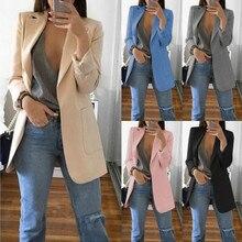Fashion Suits Blazers Mujer Marynarka Damska Cardigan
