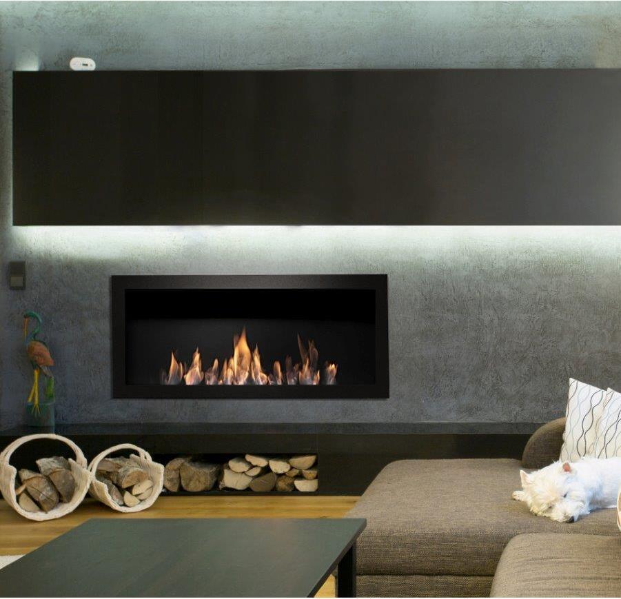 Inno-living Fire 36 Inch Intelligent Smart Home Control Bio Fireplace Insert