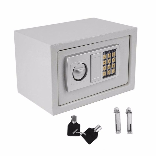 Digital Electronic Safety box Household Wall Keypad Lock Safes Deposit Security Box Money Jewellery Cash Document anti-theft box
