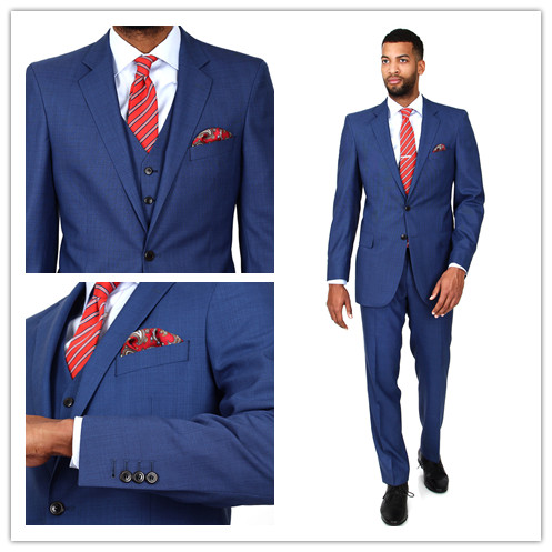 Online Buy Wholesale blue classic suit from China blue classic ...