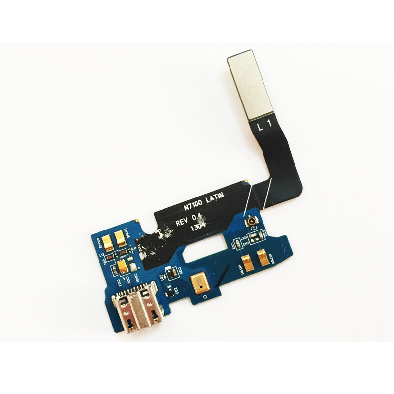 Original For <font><b>Samsung</b></font> Galaxy Note 2 II N7100 N7102 N7105 <font><b>E250S</b></font> E250K USB Port Charger Charging Port Dock Connector Flex Cable image
