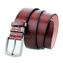 2019 Brand Pin Buckle Belt for Male Quality PU Luxury Waist Strap Designer Men w/3.7cm Leather Belts Jeans Casual