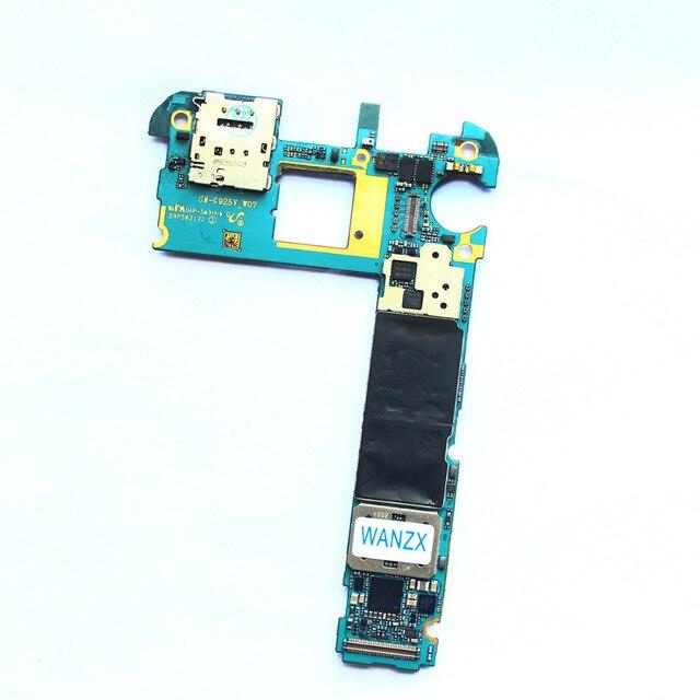 Placa principal para samsung galaxy s6 edge g925v 32 gb desbloqueado