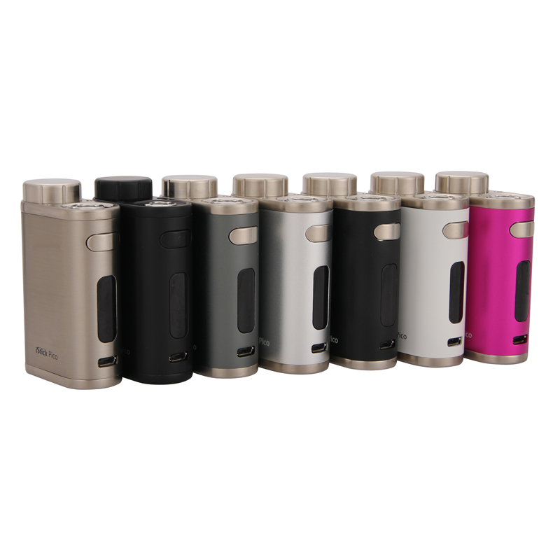 Original E Cigarettes Mod Eleaf IStick Pico 75W Box MOD Vape Supports VW/Bypass/TC/TCR Modes Fit With Melo III/Melo 3 Mini Tank
