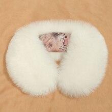 Зимняя теплая Женская шаль из искусственного меха воротник из искусственного меха пончо шарф для женщин рождественские аксессуары Подарки 12 цветов