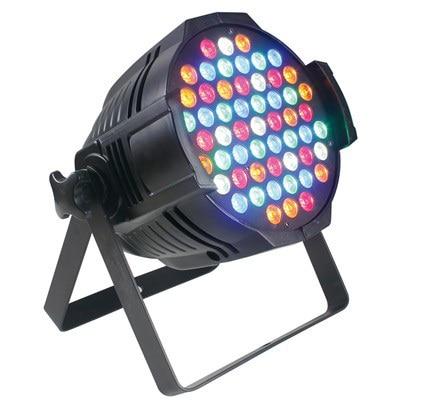 цены  55 piezas 3W LEDs parled iluminacion rojo verde azul blanco amber 9 DMX512 eventos fiestas equipo sonido luces led matrimonios