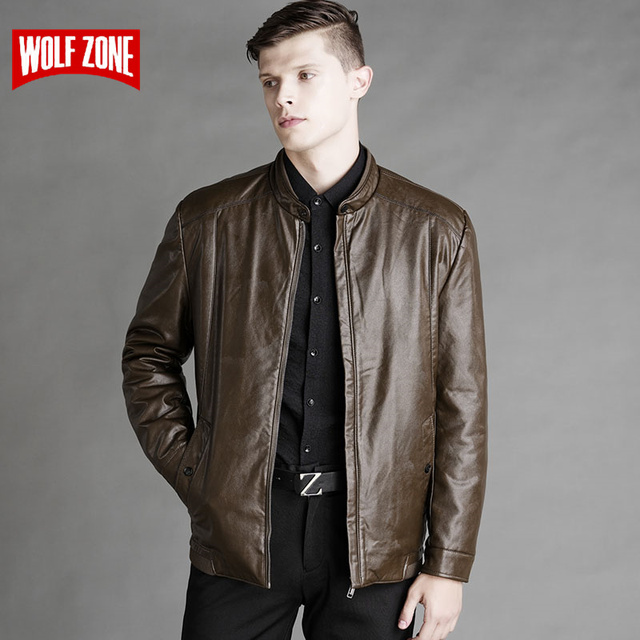 New Arrival PU Motorcycle Leather Jackets Men Spring Autumn Winter Business Slim Zipper Stand Collar Male Casual Black Warm Coat