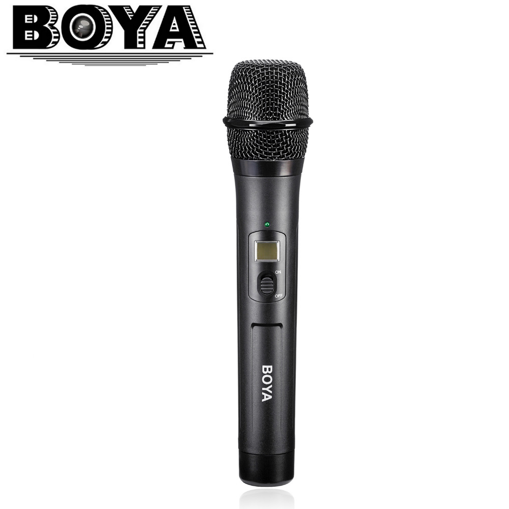 BOYA BY-WHM8 Microphone UHF transmission with 48UHF channels Work with BY-WM8 /BY-WM6 Receiver
