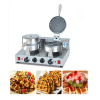 Hot Sale 220V Commercial Automatic Electric Custom Plate Waffle Maker for Sale