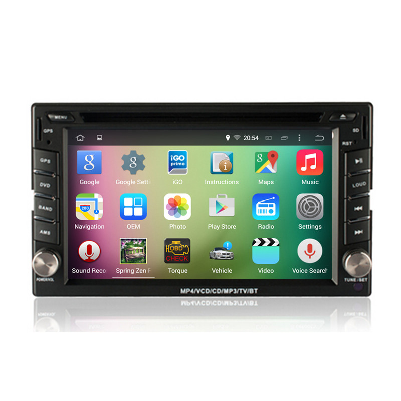 6 2 Android 4 4 Quad Core Car font b Radio b font DVD GPS Navigation