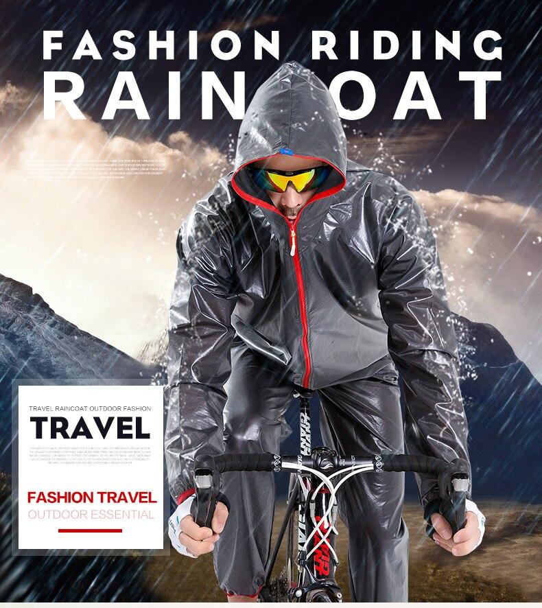 WHEEL UP Quick dry cycling raincoat jacket waterproof bicycle <font><b>men</b></font> women road MTB mountain TPU bike rain coats cycling clothing