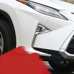 Chrome ABS przednie światło/rama lampy dla Lexus RX200T RX450H F-Sport 2016 Z2AAL397