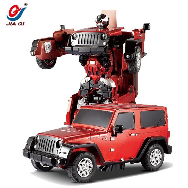 Luxury Sportscar Robot Transformation RC Car