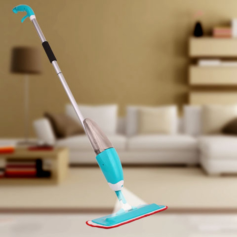 Spray Cleaner 360 Degree Professional Handle Mop Homily Floor Spray Mop Home Cleaning Tools with Microfiber Pad Mop