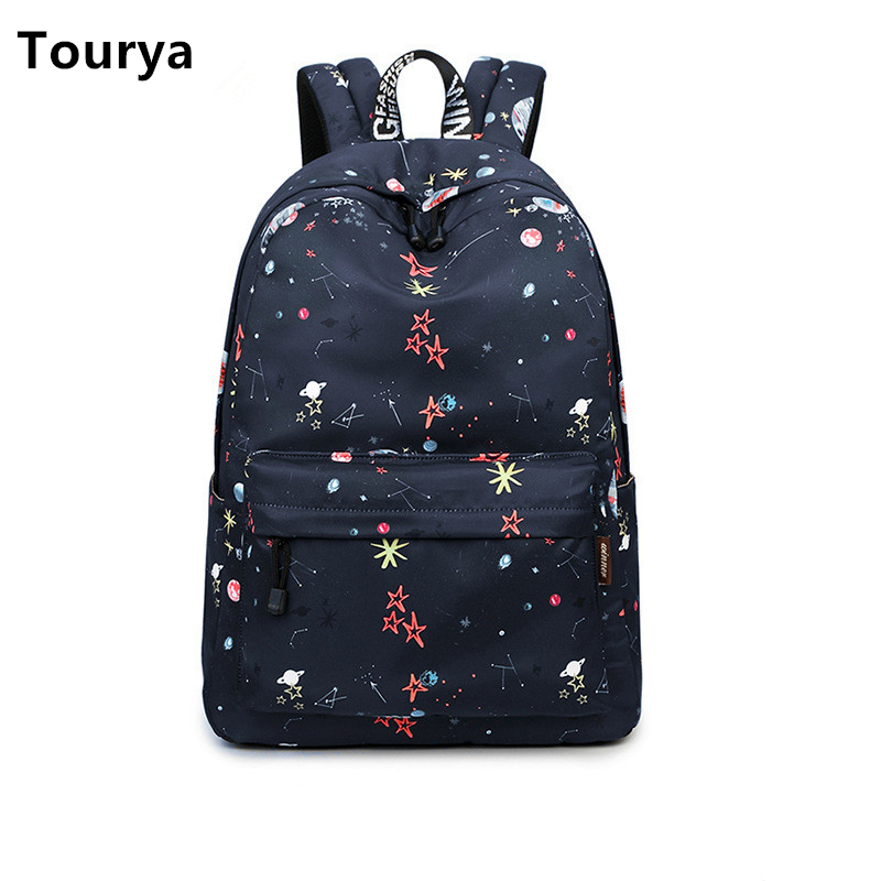 Tourya Fashion Waterproof Women School Backpack Shoulder Bags For Teenagers Girls Large Capacity Travelling Bagpack Laptop Bag fashion oxford waterproof military backpack women laptop backpacks large school bags for teenagers girls big travel bagpack bag