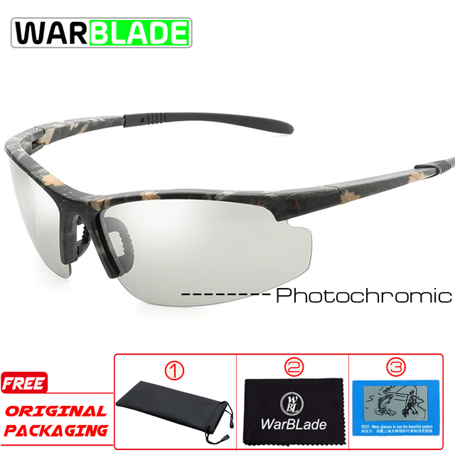 Polarizado photochromic ciclismo óculos de bicicleta esportes ao ar livre óculos de sol óculos de proteção com miopia quadro b1041 2