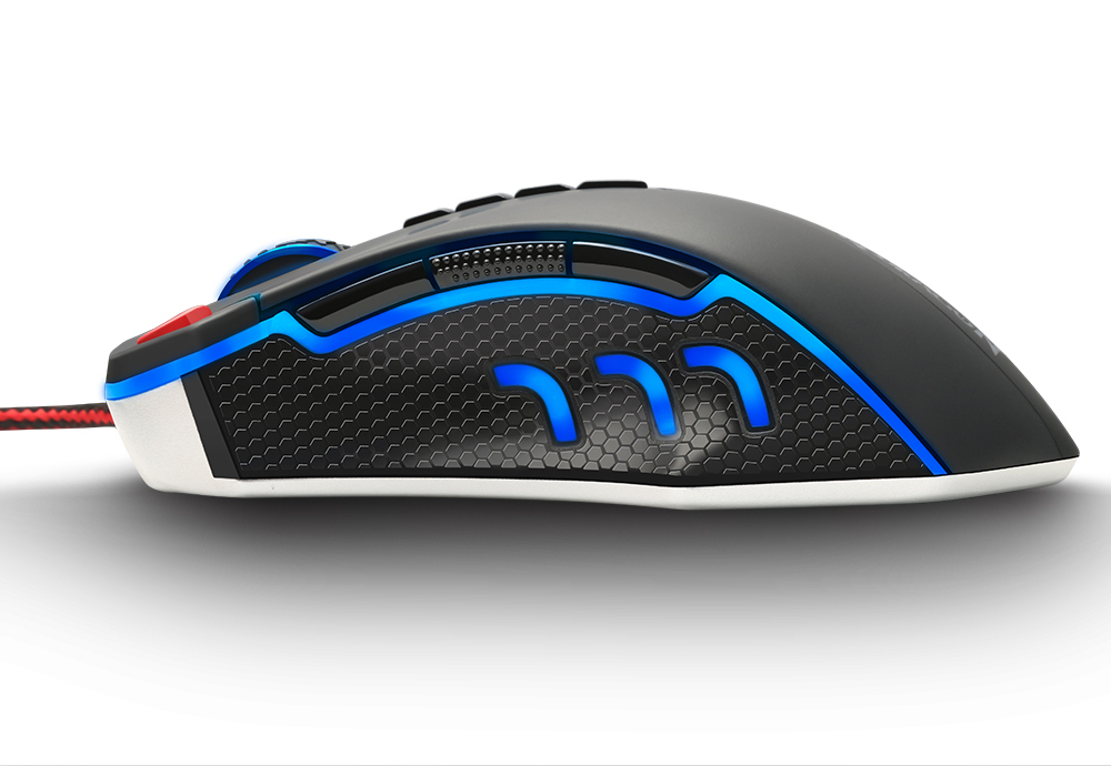 Redragon USB wired RGB Gaming Mouse 24000DPI 10 buttons laser programmable game mice LED backlight ergonomic for laptop computer 11