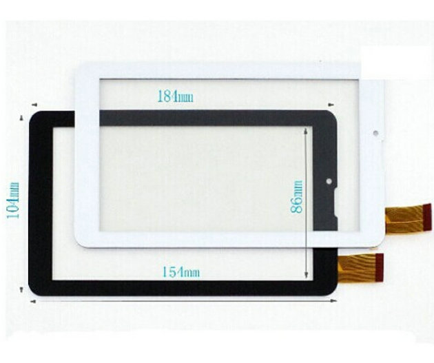 Free Film + New touch screen 7 Oysters T72h 3G / Explay Leader 3G Tablet Touch panel Digitizer Glass Sensor Free Shipping free film new touch screen digitizer 7 inch oysters t72 3g tablet outer panel glass sensor replacement wjhb