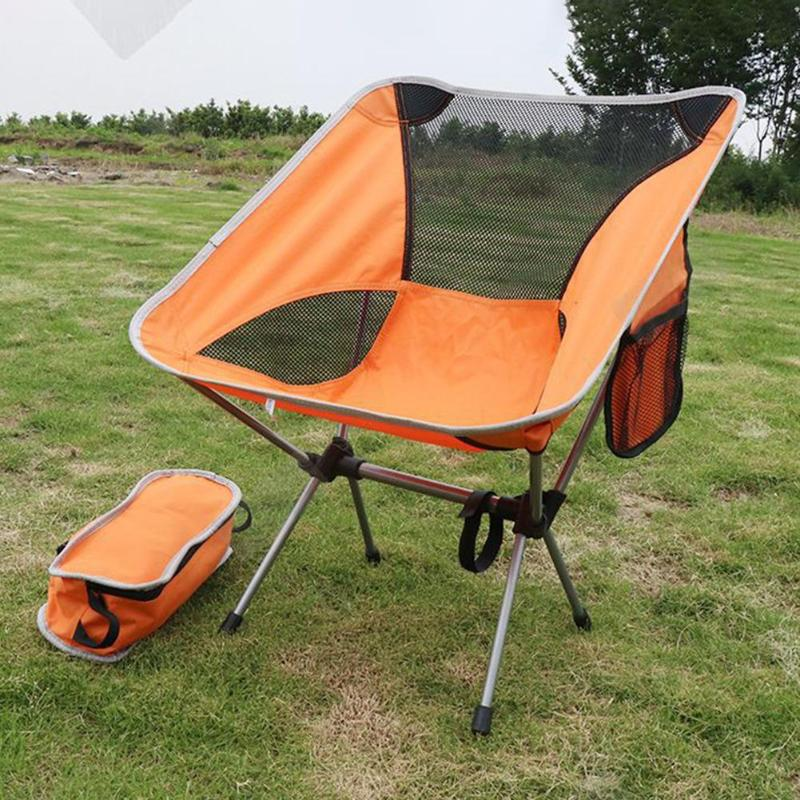 Portable Outdoor Compact Folding Picnic Chair Fold Up