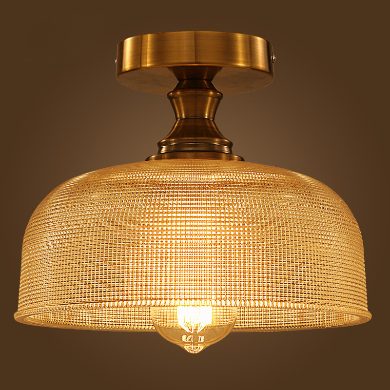 European vintage loft glass pendant light fixture home deco living room DIY bronze iron E27 bulb pendant lamp furnishings brief modern k9 crystal flower pendant light fixture european fashion home deco living room diy glass pendant lamp