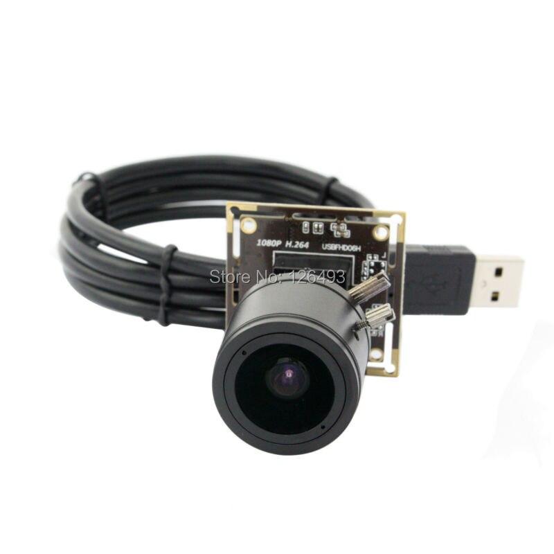 1920*1080 2MP 30fps H.264 hd Sony IMX322 2.8-12mm Manual zoom varifocal USB Webcam camera Board 1080P for endoscope,microscope цена