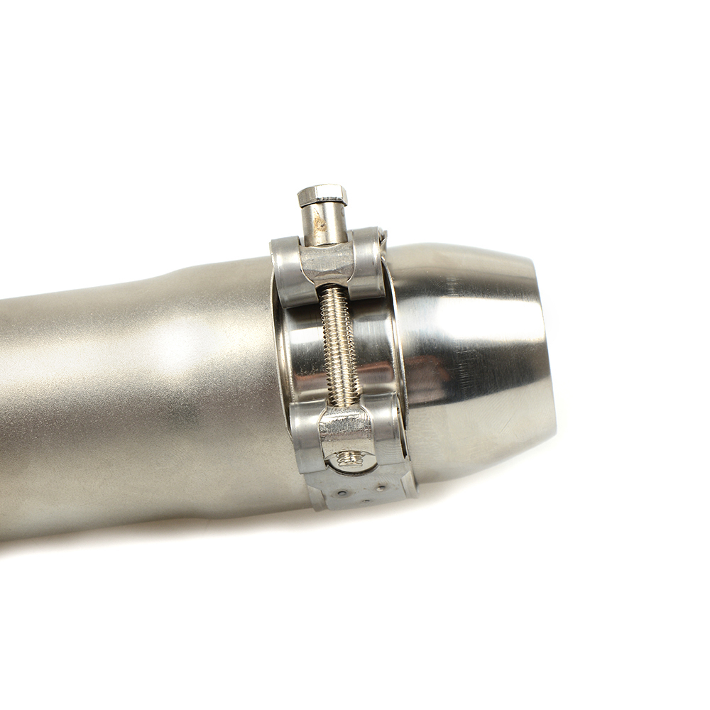 35MM 51MM Universal Motorcycle Exhaust Pipe Escape Scooter Muffler With DB Killer For Suzuki GSF 600 Bandit SV 1000 S 650 S in Exhaust Exhaust Systems from Automobiles Motorcycles