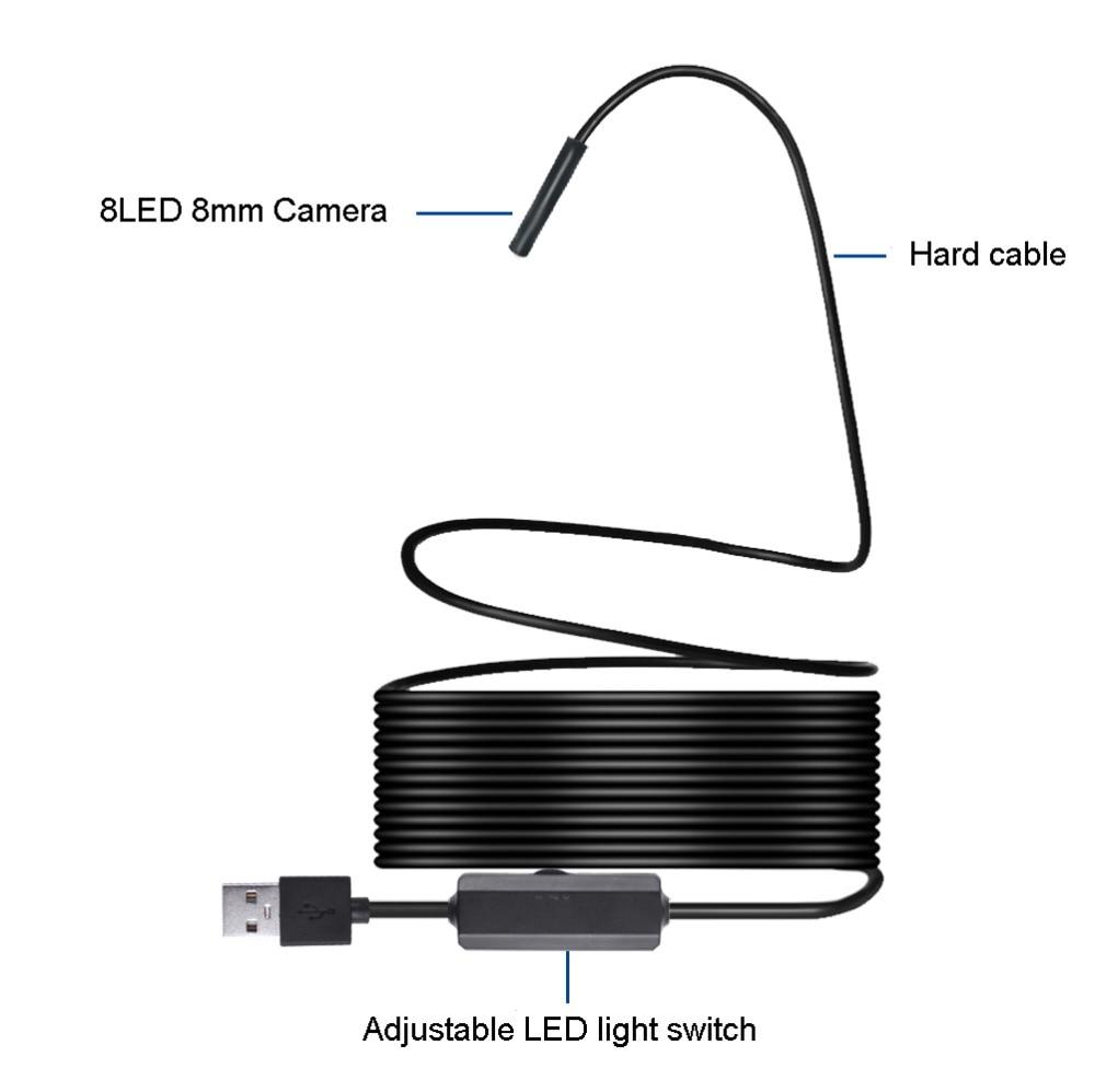 HTB1rpavkQSWBuNjSszdq6zeSpXak WIFI Endoscope Camera HD 1200P 1-10M Mini Waterproof Hard Wire Wireless 8mm 8 LED Borescope Camera For Android PC IOS Endoscope