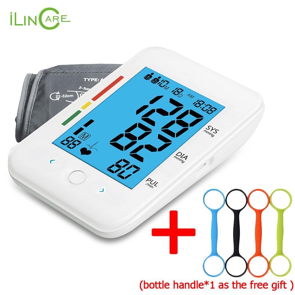 Ultra-mince Numérique Automatique Tensiomètre Bras Moniteur de Pression Artérielle Micro USB Tonomètre soins de Santé compteur de la pression artérielle