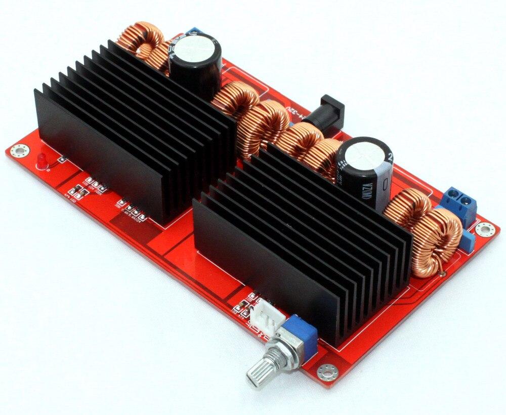 YJ TDA7498 amplifier board 32VDC 2.0 channel class D Parallel TDA7498 amplifier 200W+200W better TA2024 yj 24vdc tda7492 2 0 channel digital amplifier class d 2 50w