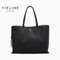 Vieline, women genuine leatherCasual Tote women real leather tote bag,lady hand bag, free shipping
