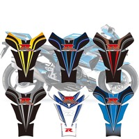 3D Motorcycle Tank Pad Protector Sticker Tank Decal For Suzuki GSXR 600 750 1000