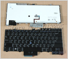 New CZ/Czech for Dell Latitude E6400 E6410 E5500 E5510 E6500 E6510 M2400 M4400 laptop Keyboard With backlight  0D4K8T V082025BS1
