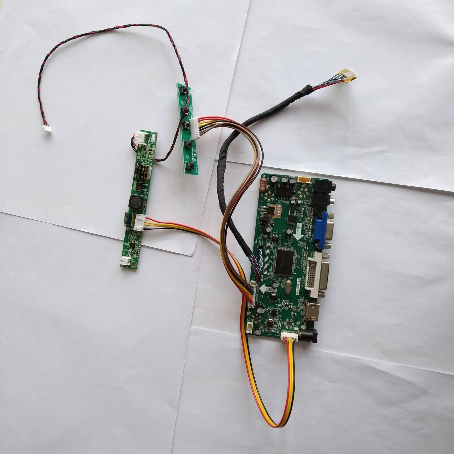 M.NT68676 HDMI DVI VGA LED LCD Controller Board Kit For MAC LM215WF3(SL)(A1) /SLA1 1920X1080 21.5