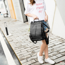 A1742 Для женщин Рюкзаки большой Ёмкость Для женщин школьная сумка для Обувь для девочек плеча Путешествия Mochila Разделение кожа женский рюкзак
