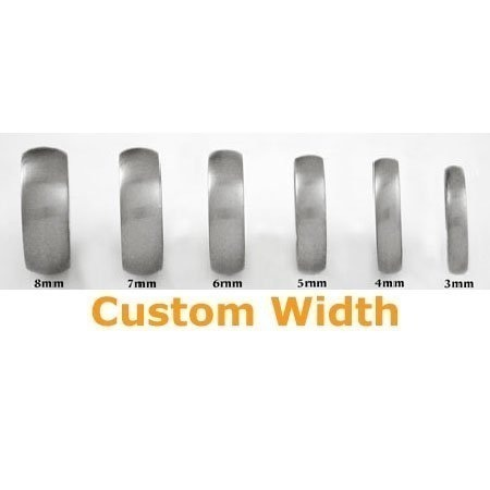 Aliexpress.com : Buy Tailor Made 8mm & 4mm Bevel Edges Titanium ...