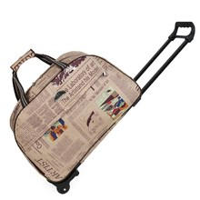 Luggage Metal Trolley Bags on wheels valise bagages roulettes Hand Trolley Unisex Bag Travel Suitcase Sac Board Chassis Package