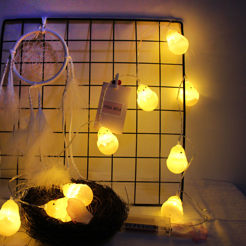 Fashion Creative String Lights Party LED Light String With Cute Chicks Halloween/Christmas DIY Party String Decoration JDH99