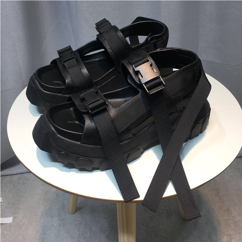 Crochet Boucle as Femmes Sandales Bride Sandalias Pic Pour Femme As 2019 Blanc Gladiateur Et Cheville La À En Pic Cuir Chic Chaussures Mujer Platfrom D'été wqOw4f