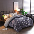 Warm Comforter in Autumn Winter full twin queen king size pineapple elk flamingo strawberry quilt