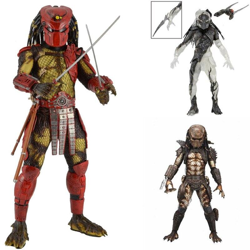 ФОТО NECA Predators 2 Battle Armor Lost Predator Wasp Predator PVC Action Figure Collectible Model Toy Kids Christmas Gift 7